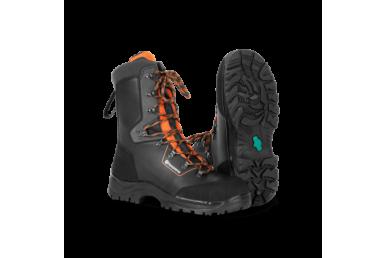 Ochranná kožená obuv Classic s ochranou proti prerezaniu