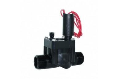 Hranatý elektromagnetický ventil bez regulácie prietoku