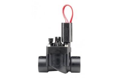 Hranatý elektromagnetický ventil s reguláciou prietoku